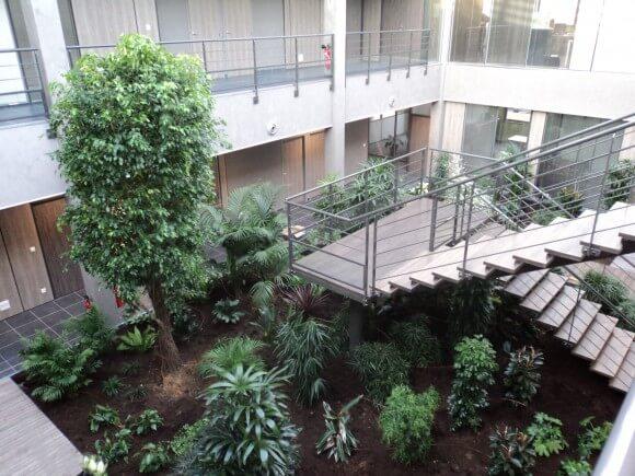 Création d'un patio, Pour notre client Bulteau System